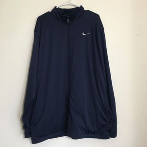 Men's Navy Blue Nike Full Zip Track Jacket